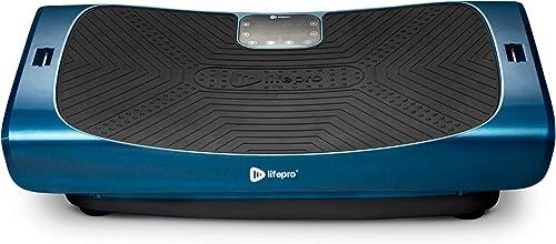 LifePro Rumblex 4D Pro Vibration Plate - Whole Body Vibration Platform Exercise Machine - Home Workout Equipment for ...