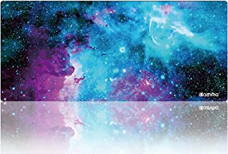 Extended Mouse Pad Large Gaming Mouse Pad XXL Desk Pad Desktop Pad Non-Slip Rubber Base with Stitched Edges, Size 35inch x 15.55inch (XXL-Galaxy 2)