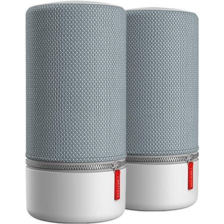 Libratone Zipp 2 Multiroom Bundle 2 Stk Smart Wireless Großes Lautsprecher Alexa Integration Airplay 2 360 Sound Wlan Bluetooth Spotify Connect 12 Std Akku Frosty Grey Audio Hifi