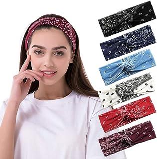 Das Mädchen-Samt-Stirnband-Torsions-Hairband-Damen-breite Haarband gestrick R1L3