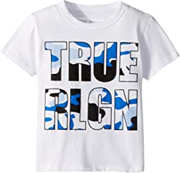 True Religion Kids - Camo Logo Tee (Toddler/Little Kids)