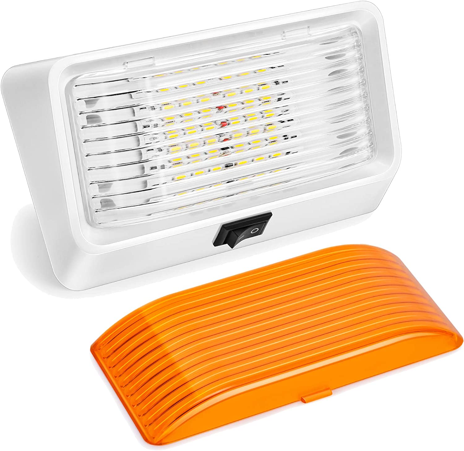 LED RV Now free shipping Exterior Porch Utility Max 60% OFF Light with 12V Switch-Kohree Repla