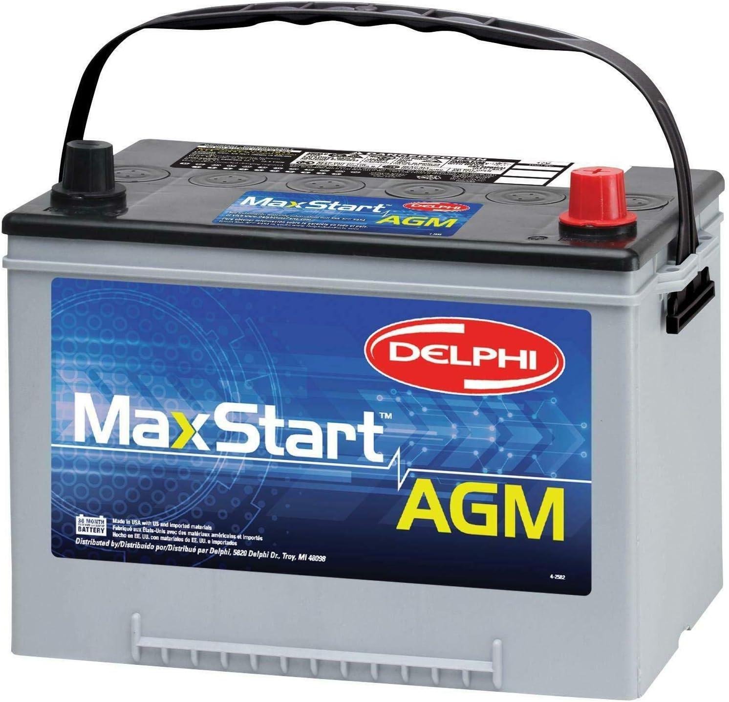 Delphi トレンド BU9034R MaxStart 流行のアイテム AGM Premium Battery Si Automotive Group