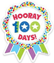 Creative Teaching Press Hooray 100 Days! Ribbon Reward Badge (1800)