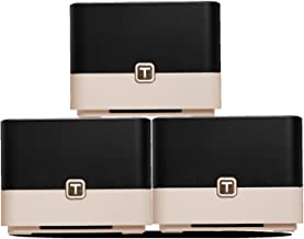 TOTOLINK T10 Whole Home & Mesh Wi-Fi System (3 Pack)-Replaces AC Routers & Extenders, Seamless Roaming, MU-MIMO, Beamforming, 4,500 sq. ft Coverage, AC1200 Dual Band Wireless Speeds up to 1200 Mbps
