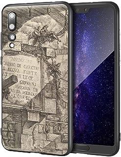Giovanni Battista Piranesi Huawei P20 Pro用ケース/ファインアート携帯電話ケース/高解像度ジクレーレベルUV複製プリント、携帯電話カバー(Carceri DInvenzione Imaginary Pri...