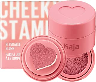 KAJA Cheeky Stamp | Blendable Blush | 01 Coy - dusty rose | Cruelty-free, Vegan, Paraben-free, Sulfate-free, Phthalates-fr...