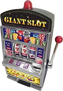 FineLife Products Giant Slot Machine Bank