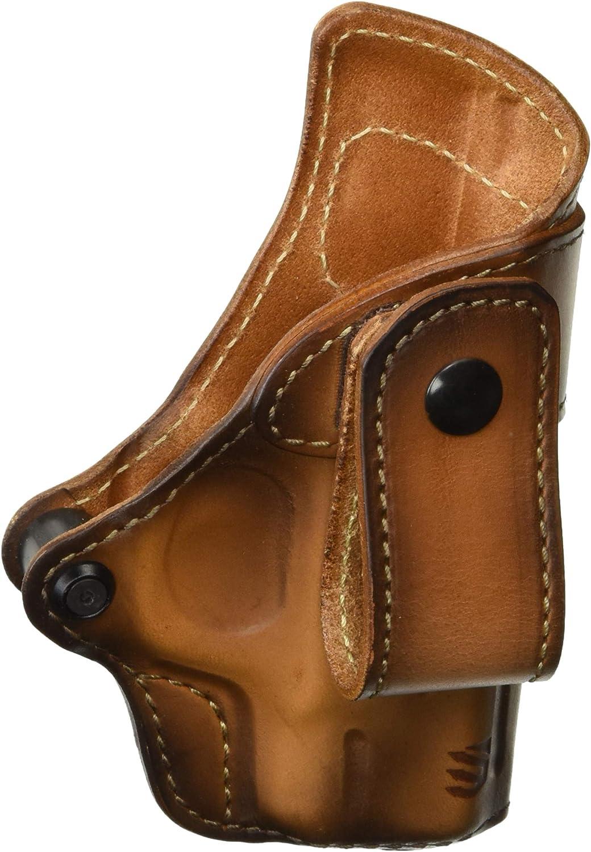 Blackhawk  Holster 450463BBR Leather S&W M&P Shield 9 .40 RH Burnished Brown