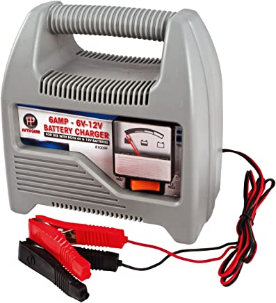 Fifth Gear 12v Compact Portable Amp Battery Charger For Cars  Vans  amp  Motorcycles