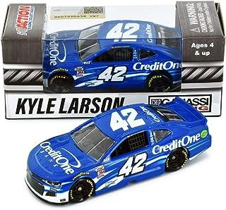 Lionel Racing Kyle Larson 2020 Credit One NASCAR Diecast Car 1:64 Scale