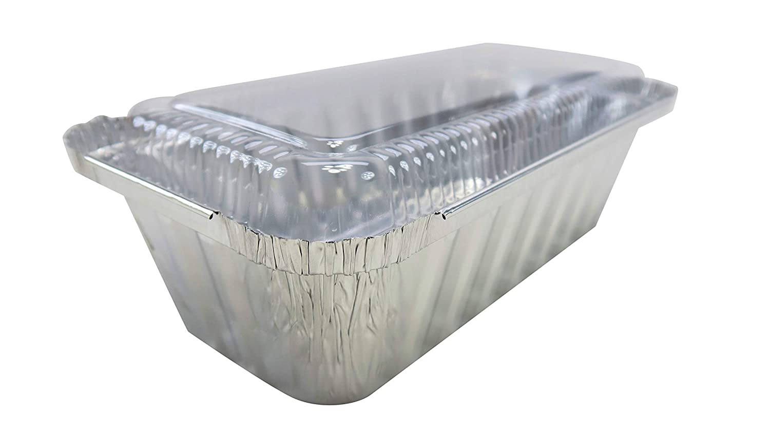 KitchenDance Disposable Limited Special Price 2 Pound Closable with Loaf Pan free Plastic L