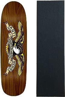 Anti Hero Skateboard Deck Eagle Overspray Brown Bomber 8.86