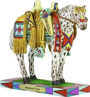 Enesco Trail of Painted Ponies Appaloosa Pride Horse Figurine, 6.5 Inch, Multicolor