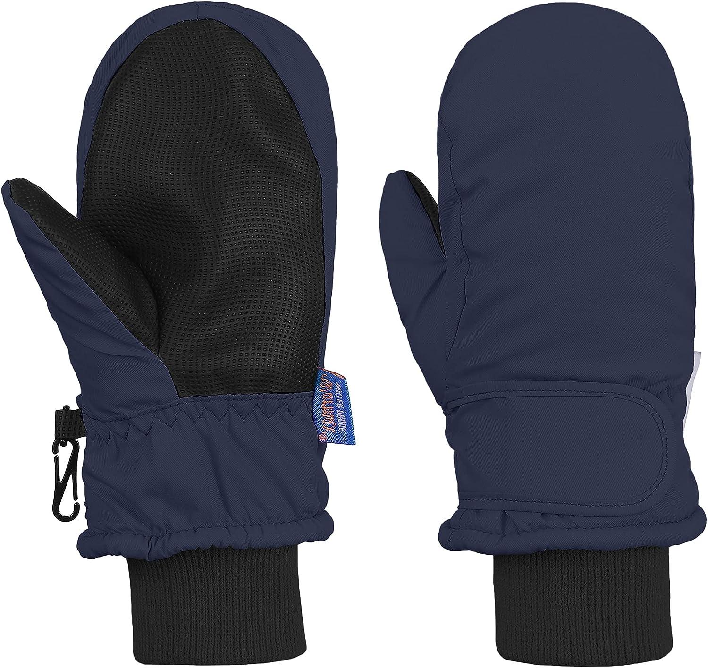 Kids Winter Waterproof Gloves for Baby Boys Girls Toddler Snow Gloves Warm Ski Mittens