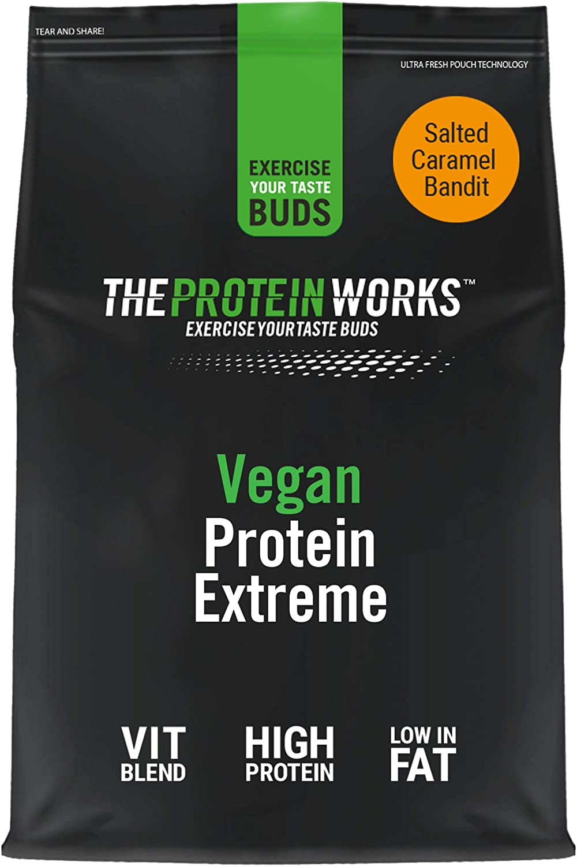 Proteína Vegana Extreme 1 kg | Sabor Vainilla | Gran fuente de Proteína vegetal