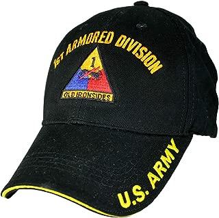 1st Armored Division Low Profile Cap Black