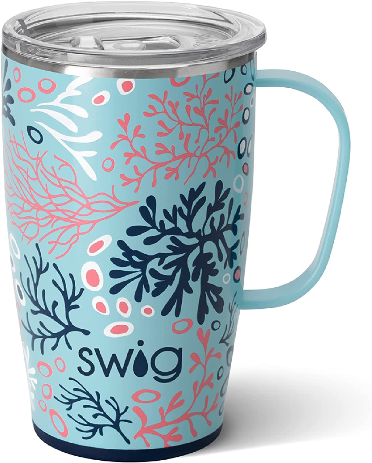 outlet Swig Life Save money 18oz Travel Mug with Handle Lid Steel Stainless and