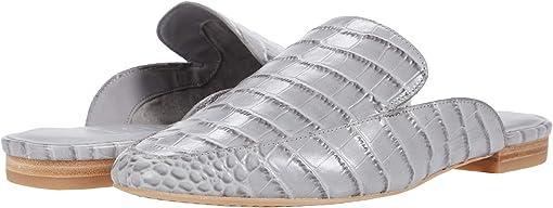 Grey Eco Croc Leather