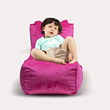 Memory Foam Lounger, Ultra Soft Bean Bag Chair, Memory Foam Bean Bag Chair with Microsuede Cover - Stuffed Foam Filled Fur...