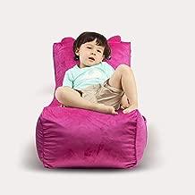 Animal Design Bean Bag Sofa Sac Memory Foam Furniture with Micro Fiber Upholstery Chair - Decoration Animal Livingroom Bedroom - (Pink Pig)