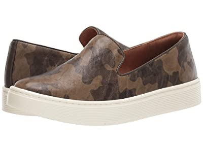 Sofft Somers Slip-On (Olive Camouflage) Women