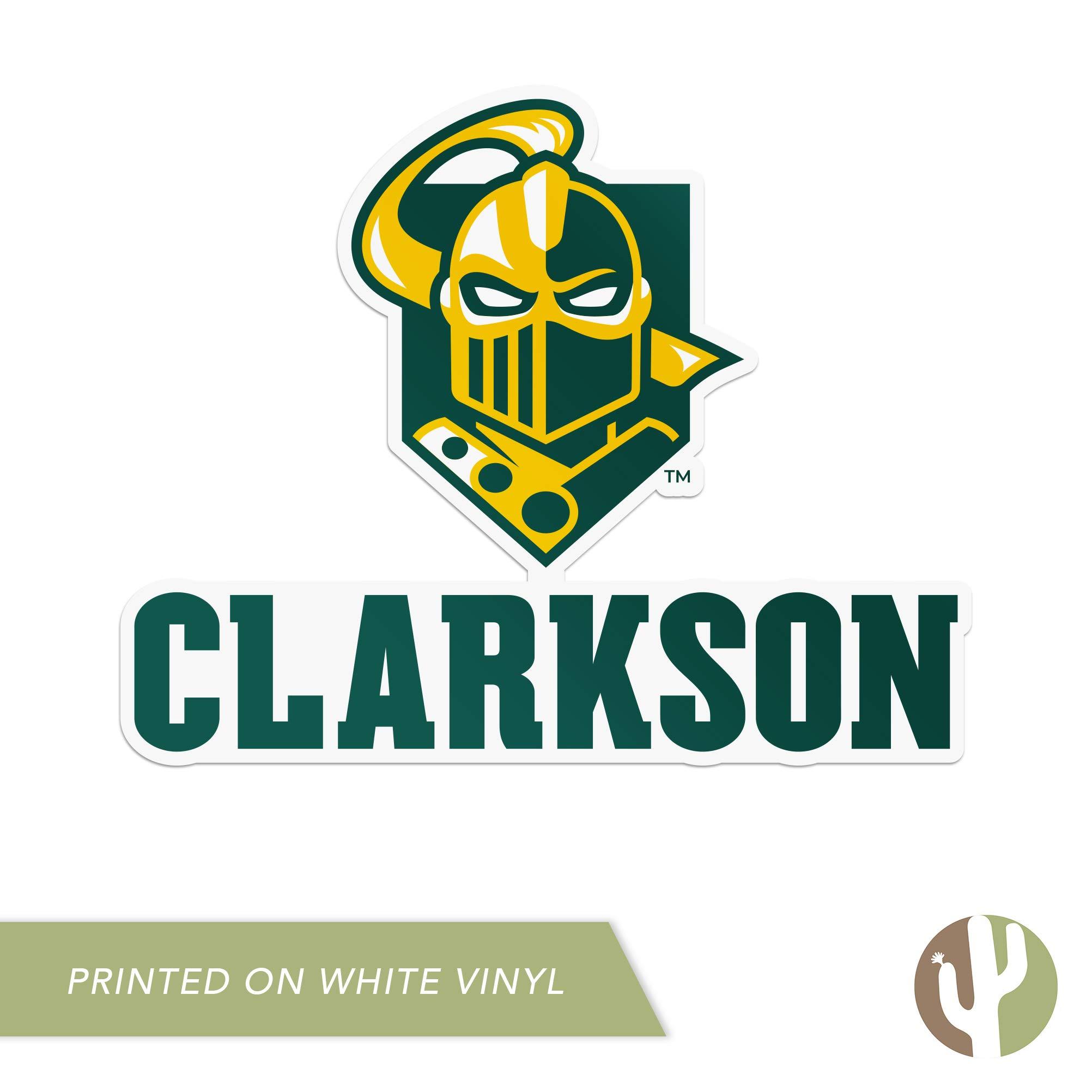 Sticker - 00024A Clarkson University Golden Knights Vinyl Decal Laptop Water Bottle Car Scrapbook