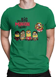 Camisetas La Colmena 208-Camiseta The Big Minion Theory (Donnie)