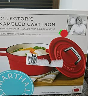 Best collector's enameled cast iron 6 qt round casserole Reviews
