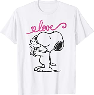 Snoopy Woodstock mother's love T-shirt