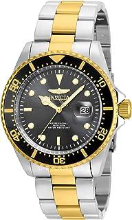 ساعة انفيكتا للرجال 22057 'برو دايف' كوارتز ستانلس ستيل بلونين بسوار