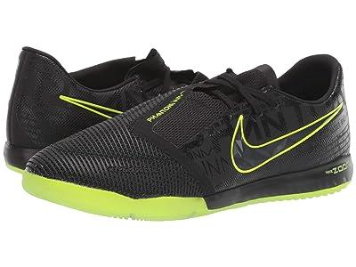 Nike Zoom Phantom Venom Pro IC (Black/Black/Volt) Men
