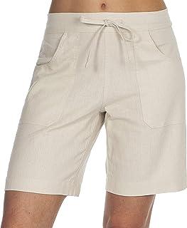 336069b67a25b7 Metzuyan Ladies Linen Blend Shorts - Summer Hot Pants