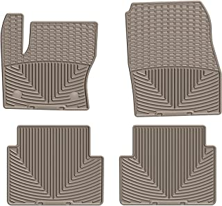 WeatherTech All-Weather Floor Mats for Ford Escape - 1st & 2nd Row (Tan)