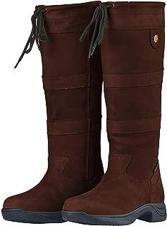 River Boots III Chocolate Ladies 8 XWide