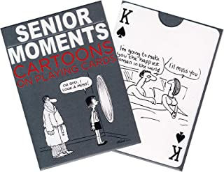 Piatnik Playing Cards Poker Standard Size, Senior Moments Cartoons