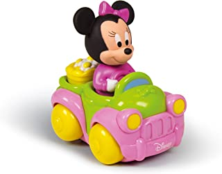 Disney Minnie Mouse-14977 Coche Flower Truck con Sonidos y melodías, (Clementoni 149773)