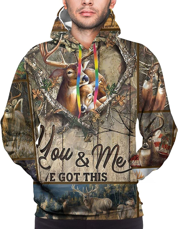 Hoodie For Men Women Unisex Hunting Deer We Got This 3d Printed Hooded Sweatshirt