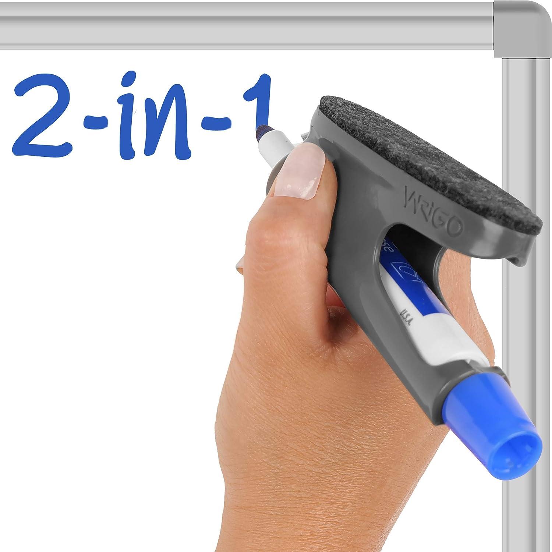 WRIGO MAG Dry Erase Marker shop Holder Magnetic price Grip Eraser- Pen with