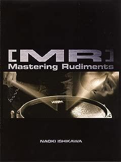 """スネア・メソッド [MR] """"Mastering Rudiments"""" 石川 直 【CD付】"""