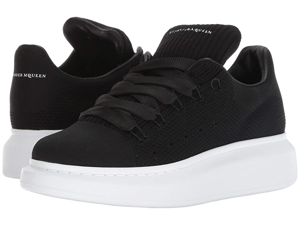 Alexander McQueen Oversized Runner Sneaker (Black) Women