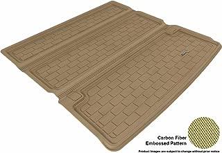 3D MAXpider Cargo Custom Fit All-Weather Floor Mat for Select Infiniti QX80 / QX56 Models - Kagu Rubber (Tan)