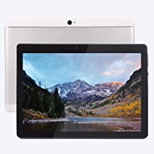 $89 » Android Tablet 10 Inch Android 8.1 OS, 3G Unlocked Tablet with Dual SIM Card Slots, FHD IPS Screen, 4GB RAM, 64GB ROM, Quad Core, 2.0 MP Front + 5.0 MP Rear Camera, Bluetooth, GPS