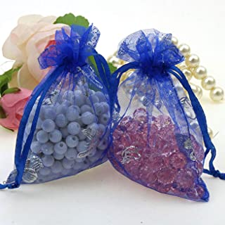 Guoxii Notable 100Pcs Cookie Packaging Bag Candy Pouch Jewelry Gift Package Butterfly Organization bag fine style None Blue butterfly bag cm