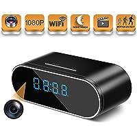 Hosuku 1080P Wireless Clock Hidden Spy Camera
