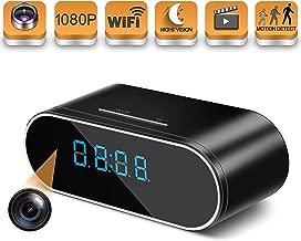 HOSUKU Hidden Spy Camera Wireless WiFi Hidden Camera 1080P Clock Hidden Cameras for Home..
