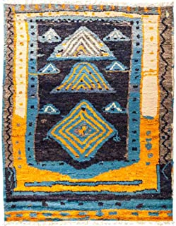 Solo Rugs Tullu Hand Knotted Area Rug, 8' 1