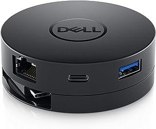 Dell Mobile USB-C DA300 - HDMI/VGA/Ethernet/USB 4Kアダプター Latitude 7390 7389 XPS 13 9370 13 9365 XPS 9575 9570対応
