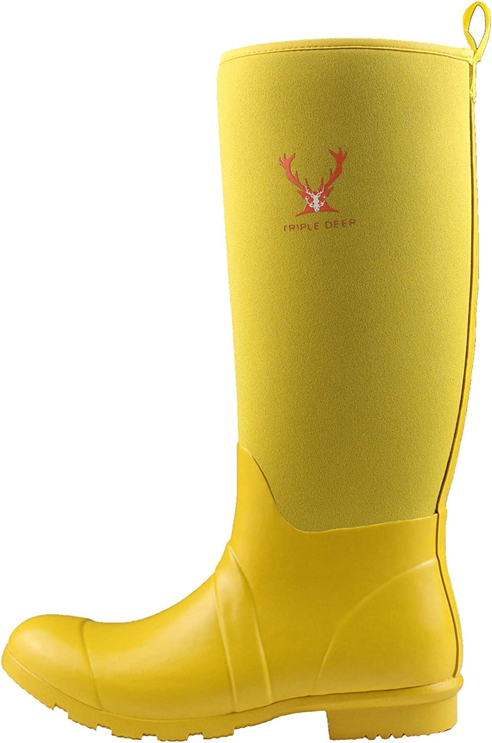 Own shoes Waterproof Rain Boots Rubber High Knee for Women Rainy Day