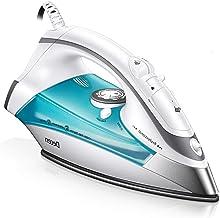 اتو بخار Decen برای لباس ، بخار ضد بخار قدرتمند 1700W ، کنترل دقیق دما ، عملکرد تمیز کردن بخار متغیر اتو مسافرتی برای خانه
